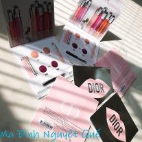 Vỉ son tester Dior Lip Glow+Maximizer