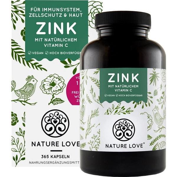ZinK With Natural Vitamin C
