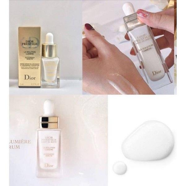 Prestige light in white La Solution Lumiere Activated Serum