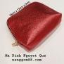 Estee Lauder Cosmetic Bag Đỏ Óng Ánh
