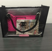 Chanel Beauty Accessory - Plastic Tote bag nhỏ